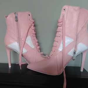 Brand New  Ankle Boots, Pink